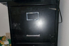 FREE!  Letter size filing cabinets.