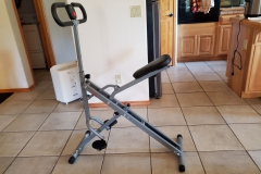 ($50) Squat Assist Row-N-Ride Trainer. Like new - half the price.