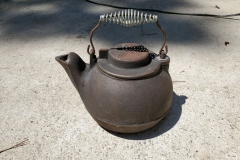 ( $5 ) Cast iron kettle