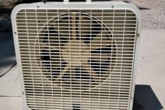 ($10) Evaporative cooler fan
