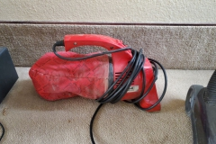 ($12) Dirt Devil vacuum. Small but mighty! Long cord for stairs, cars, etc.